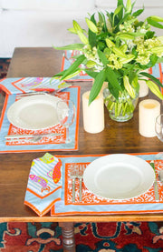 Gretchen Scott Placemat - Coral Perfection