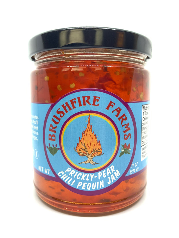 Brushfire Farms Pear Burner Prickly Pear Chili Pequin Jam