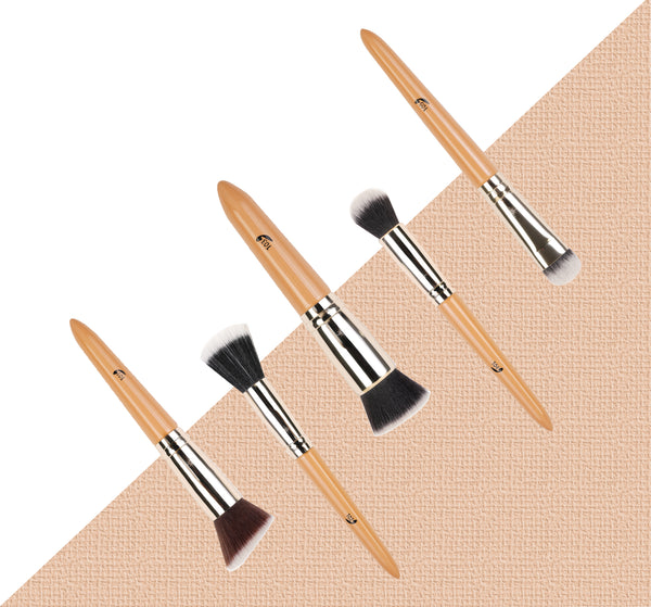 Addoony Individual Coverage Face Brushes