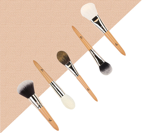 Addoony Individual Powder Face Brushes