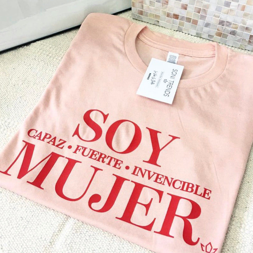 SOY MUJER TEE
