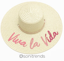 Load image into Gallery viewer, VIVA LA VIDA SUN HAT