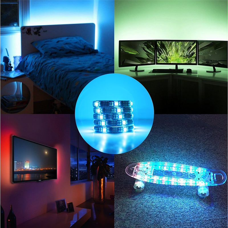 3 Key Remote Controlled LED Light Strip
