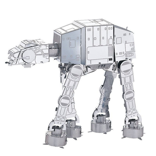 Building Blocks 3D Puzzle Metal Puzzle Imperial Walker compatible Legoing Fun Classic Boys' Girls' Toy Gift / Educational Toy