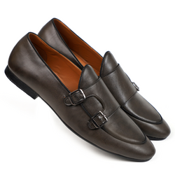 NICHE Anchor Gray Belgian Loafers