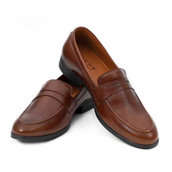NICHE Cherry Brown Penny loafers