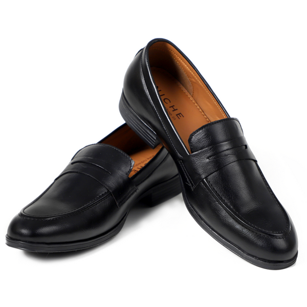 NICHE Black Penny Loafers