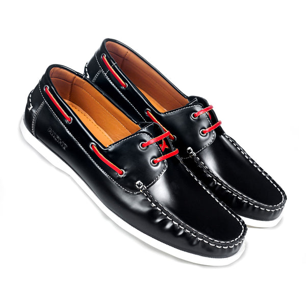 NICHE Black Boat Shoes
