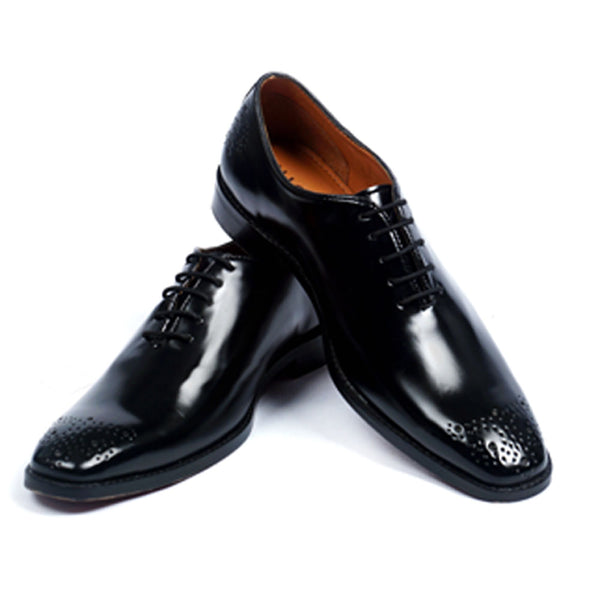 NICHE Black Unique Wholecut Oxford