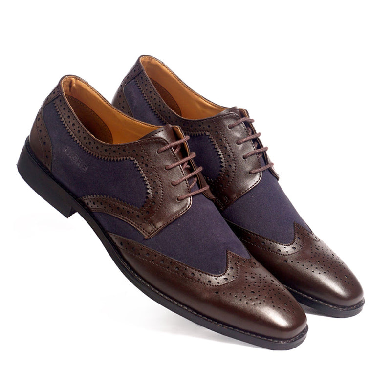 NICHE Brown Blue Imperial Lace ups
