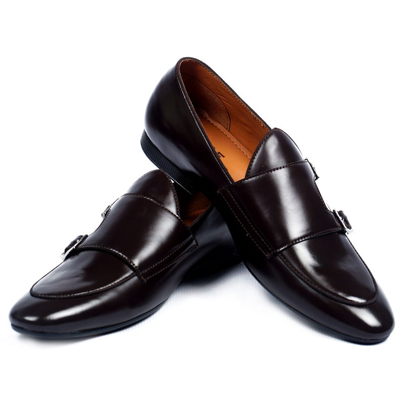 NICHE Brown Profound Belgian Loafers
