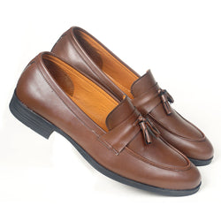 NICHE Brown Tassel Loafer