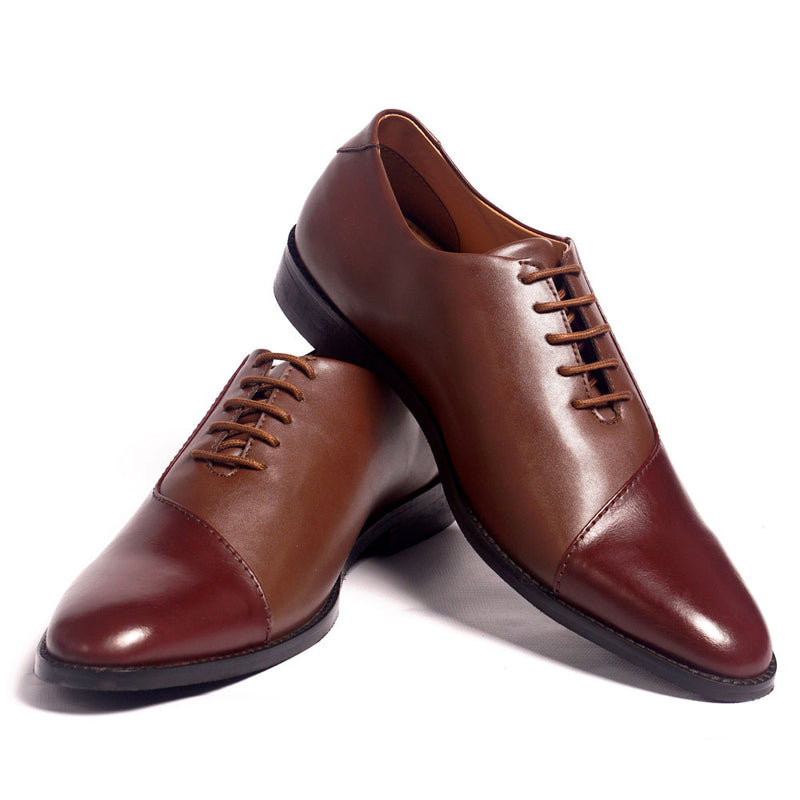 NICHE Dual Tone Spotless Lace Ups
