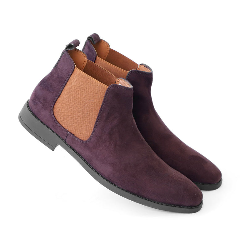 NICHE Brown Suede Chelsea Boots