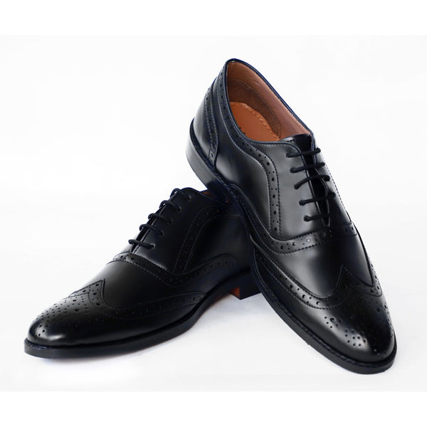 NICHE Black Elegant Brogue