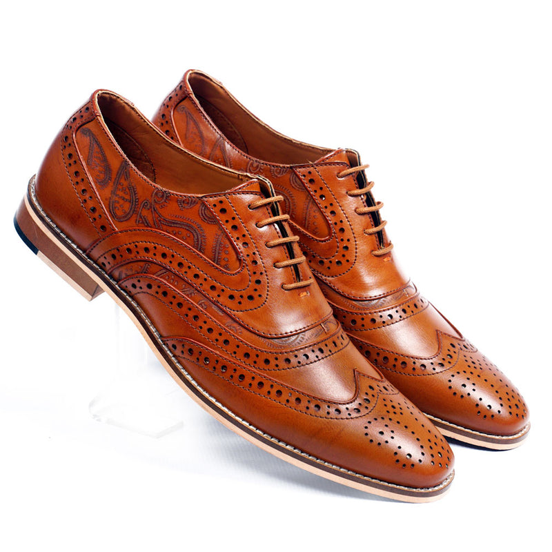 NICHE Exclusive Men Mellow Tan Brogue