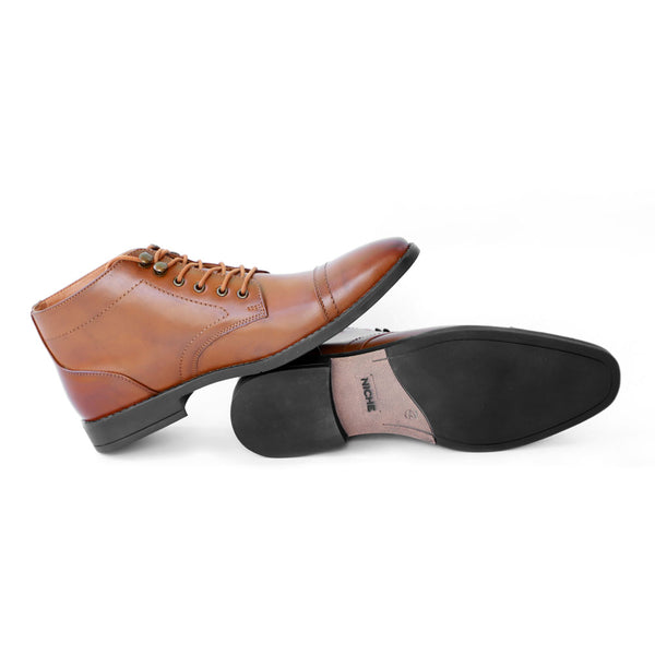 NICHE Tan President Boots