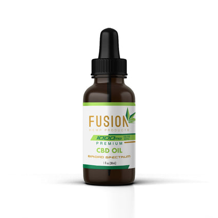 Pure Broad Spectrum CBD Oil (1000 mg)