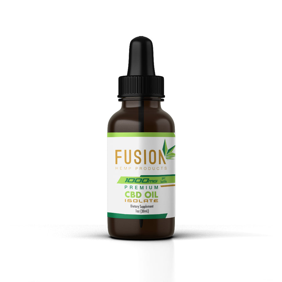 Premium CBD Isolate Oil – 1000mg
