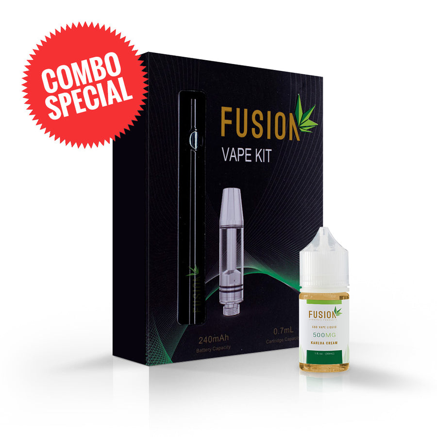 CBD Vape Pen & Vape Juice Bundle