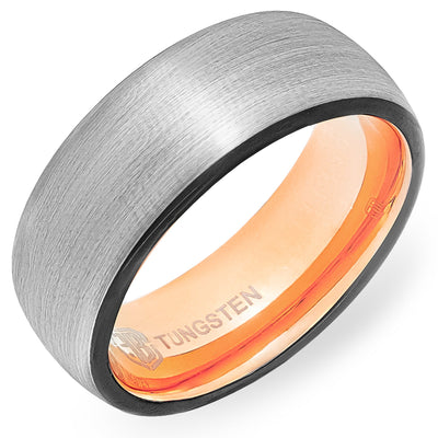 The Humperdink Tungsten Mens Wedding Band Foxtrot Bands