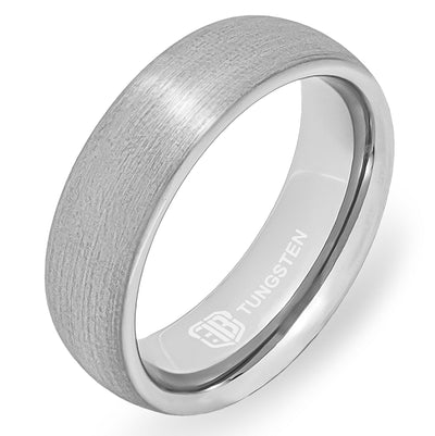 The Architect Tungsten Mens Wedding Band Foxtrot Bands
