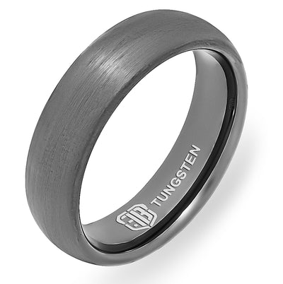 The Clutch Tungsten Mens Wedding Band Foxtrot Bands