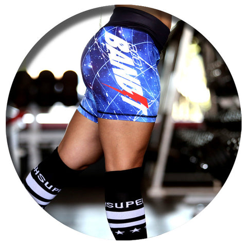 Body Bandit Galaxy Shorts