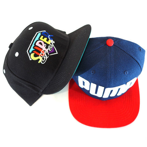 Snapback bundle pack<br>(black classic+pump)