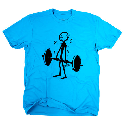 Deadlift (Stick)<br> [tee]<br> (turquoise)