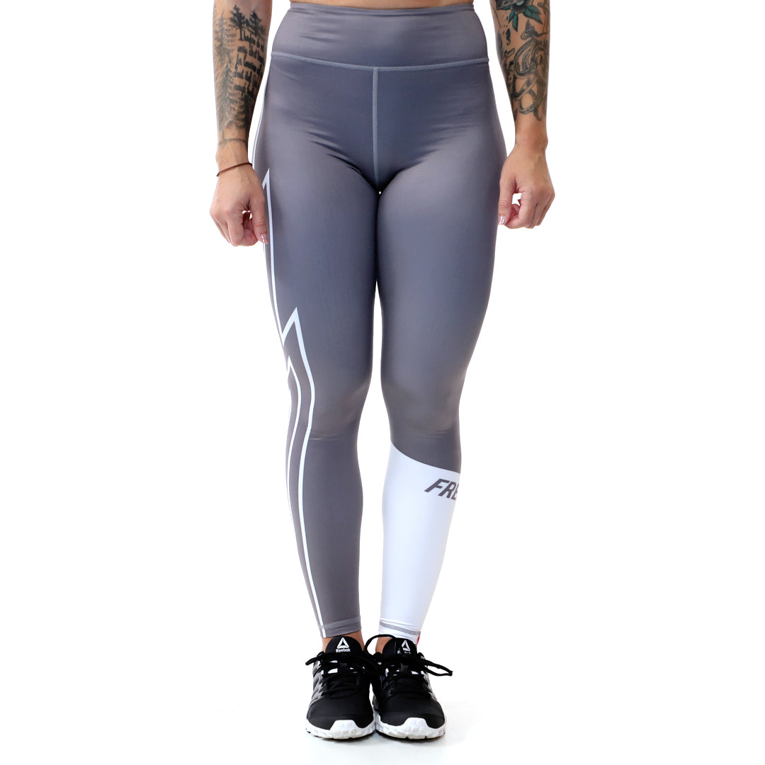 Velvet Thunder Leggings<br> (Grey)