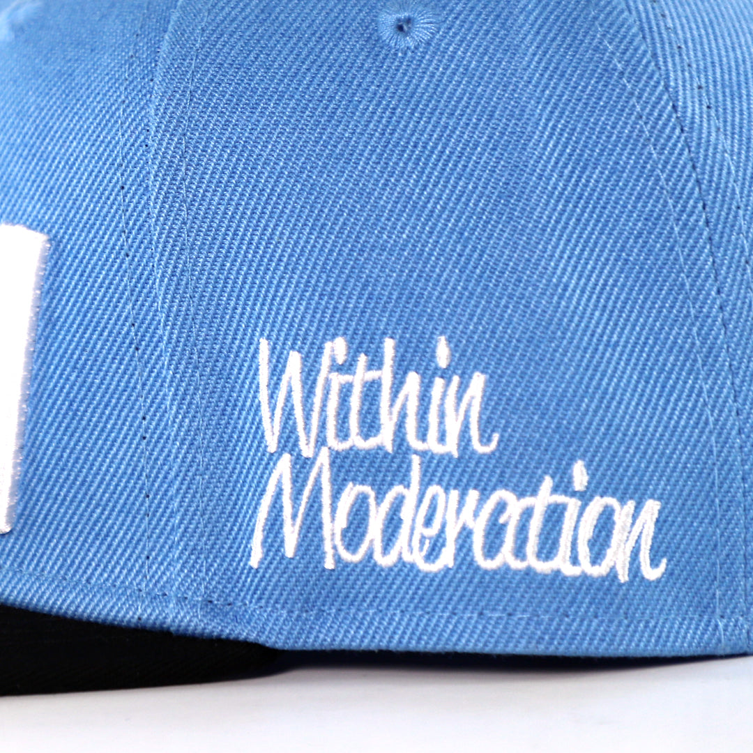 Ice Cream snapback<br> (blue)