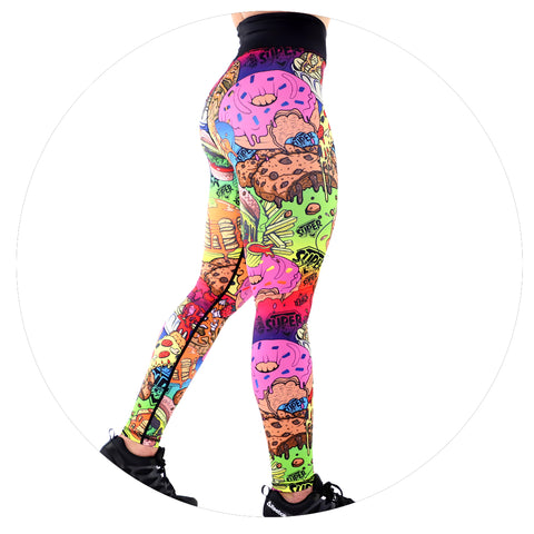 Junk Food V2 Leggings (Rainbow)