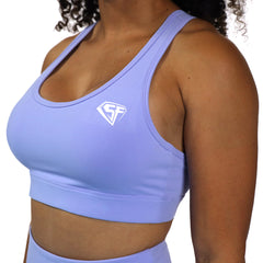 Luxury Emblem Sports Bra