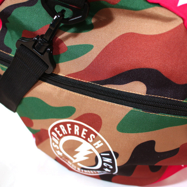 Mini camo stars duffle 2.1<br> (red light special)