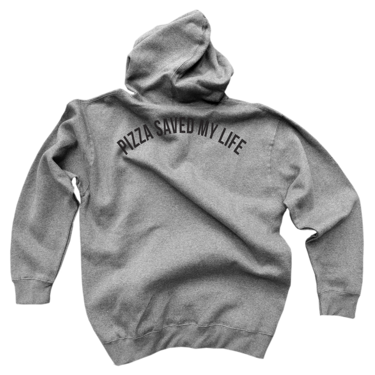 Pizza Saved My Life<br> [Hoody]<br> PRE-ORDER! (ships 4/19-4/26)