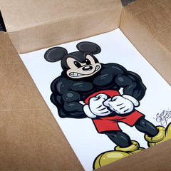 All Natural Mickey poster