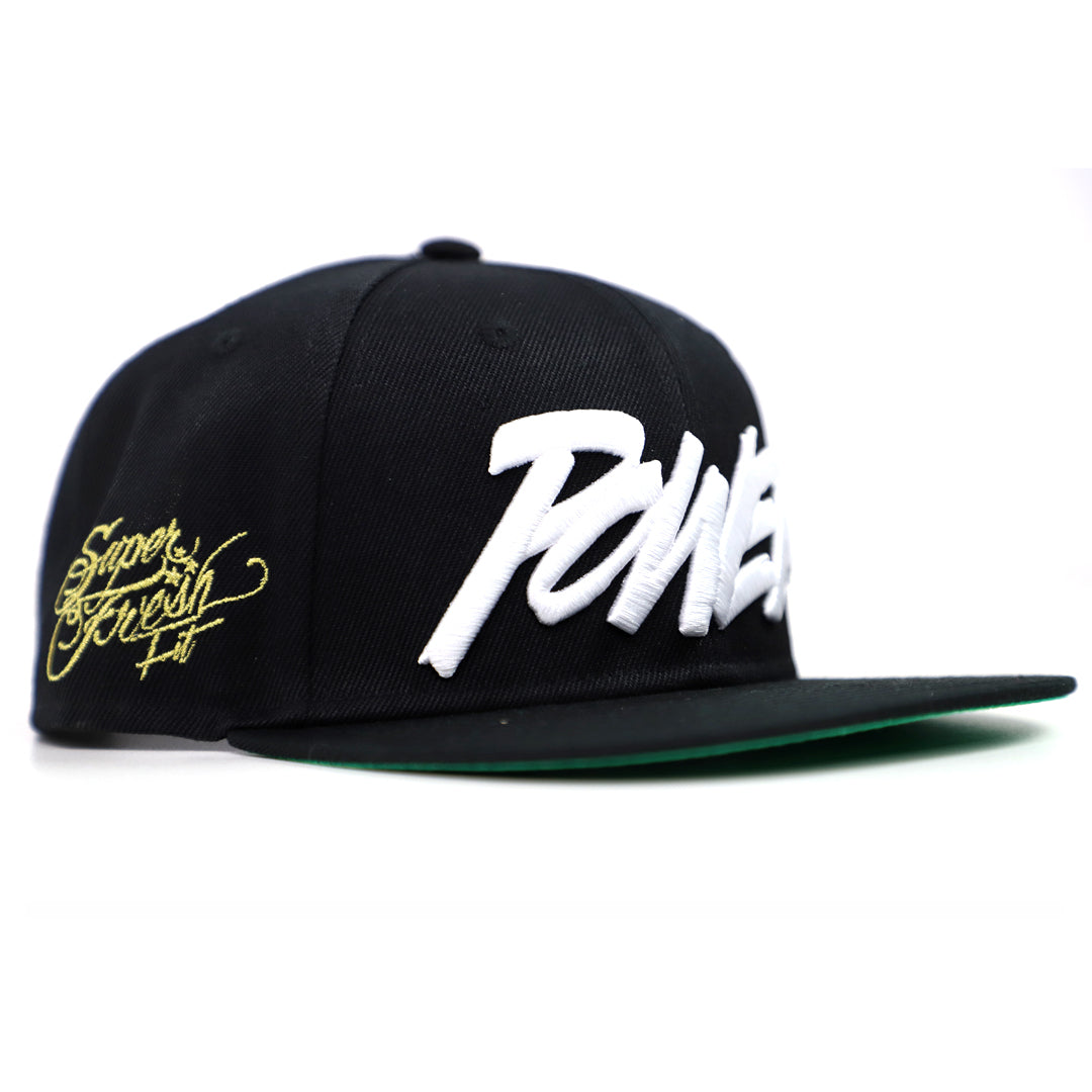 Power Snapback<br> (black)