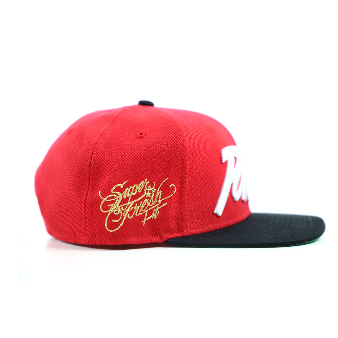 Power Snapback<br> (red)