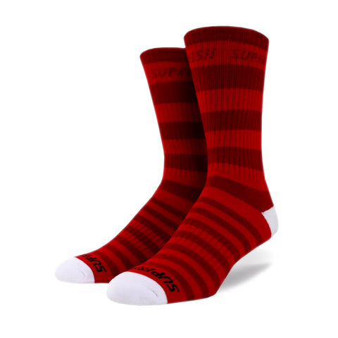 Wonka Crew Socks (red)