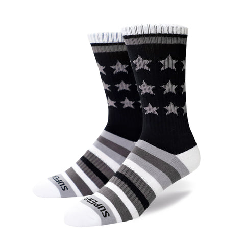 Remixed Crew Socks (grey)