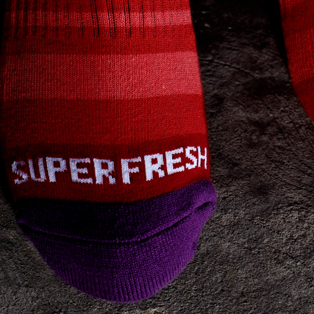 Remixed Crew Socks (Mix Berry)