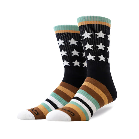 Remixed Crew Socks (Army)