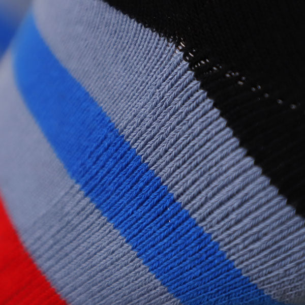 Remixed Crew Socks (Red/White/Blue)