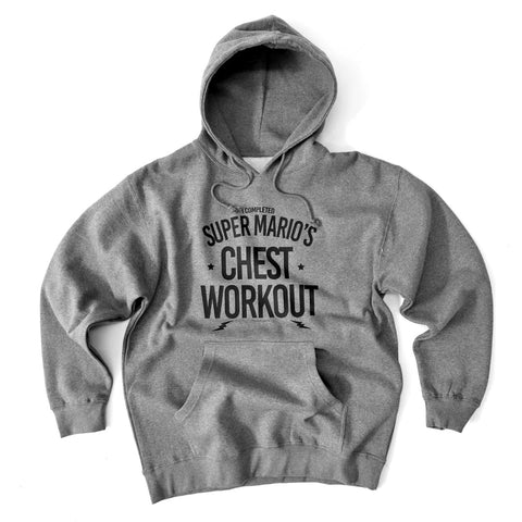 Super Mario's Chest Workout<br> [Hoody]<br> PRE-ORDER! (ships 3/29-4/5)