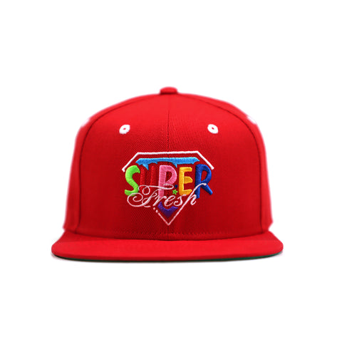 Classic Logo Snapback<br> (Red)