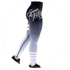 V2 College Prep Leggings (Black Ombre)
