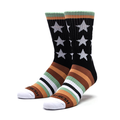 V2 Remixed Crew Socks (Army)