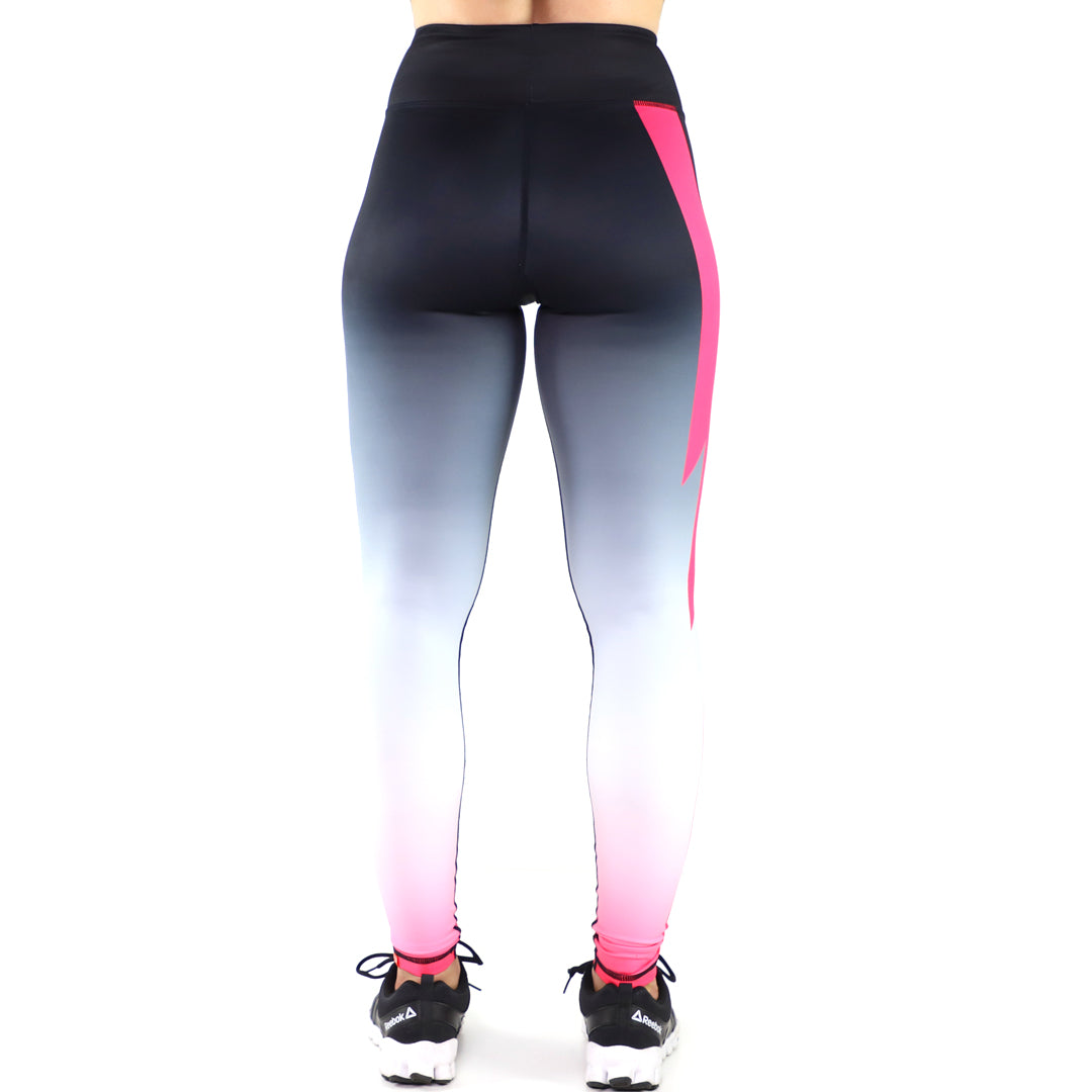 V2 Thunder Leggings (Black/Pink)