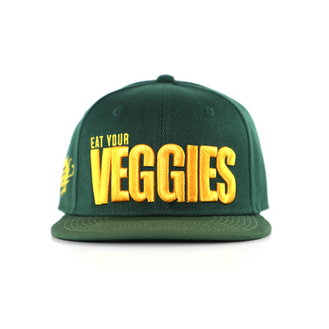 Veggies Snapback<br> (green)